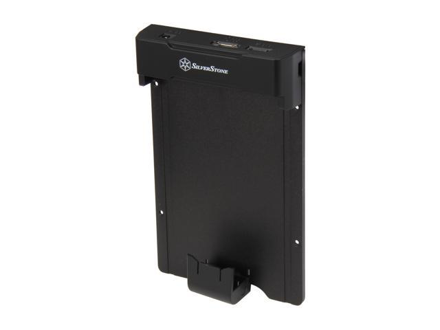 SilverStone SD01B Black External Hard Drive Pad / Docking Station