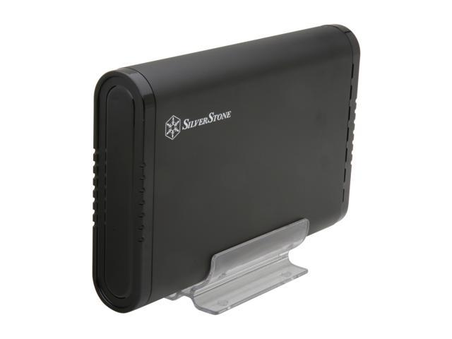SilverStone TS07B Black Tool-less Design External Enclosure