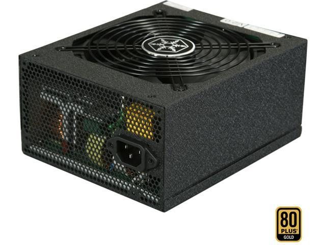 SILVERSTONE SST-ST1000-G Evolution 1000W ATX 12V v2.3 / EPS 12V SLI Ready CrossFire Ready 80 PLUS GOLD Certified Modular Active PFC Power Supply