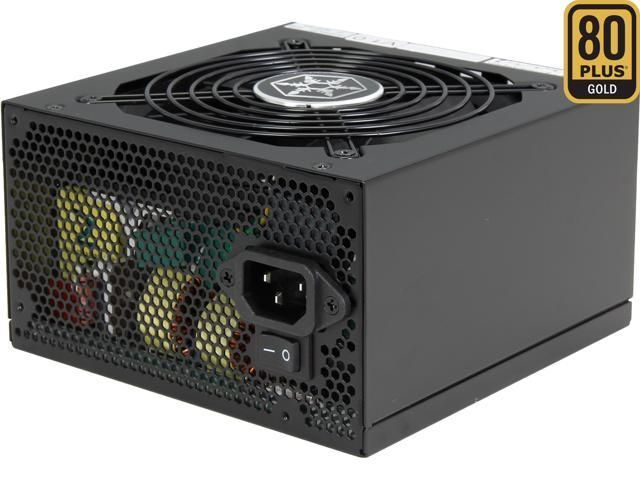 SILVERSTONE Strider Gold S Series ST85F-GS 850W ATX 80 PLUS GOLD Certified Full Modular Active PFC Power Supply