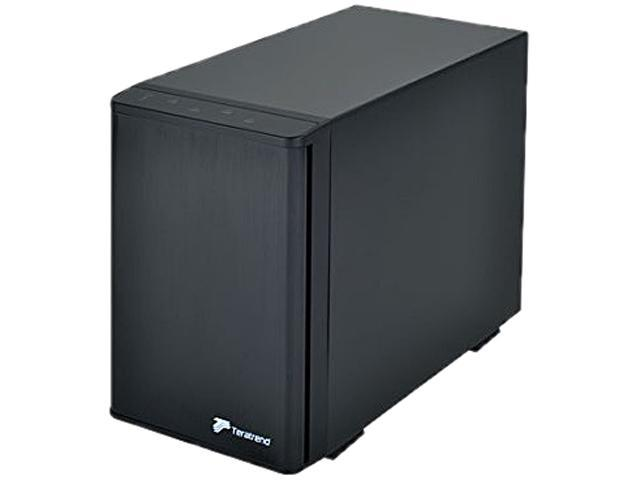 "SilverStone SST-TS431S 3.5"" SAS/SATA HDD/SSD Black 1 x Mini-SAS port 4-Bay Storage Tower with MiniSAS Interface"