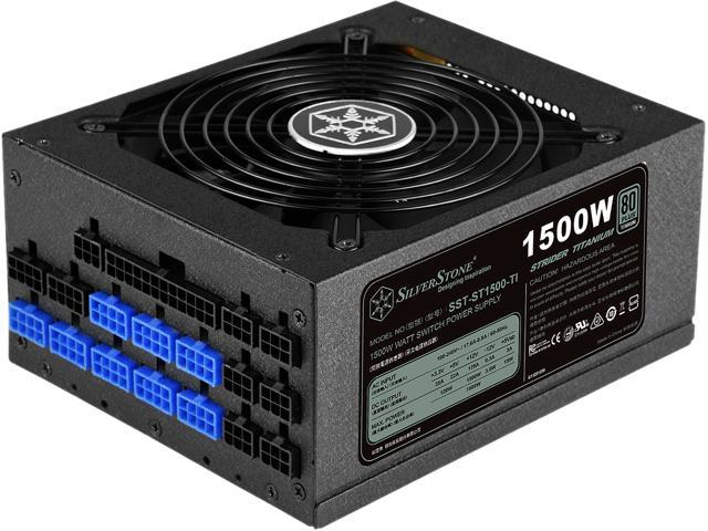 Silverstone ps st1500 ti 1500w atx12v 80 plus titanium certified silverstone ps st1500 ti 1500w atx12v 80 plus titanium certified active pfc power supply fandeluxe Images