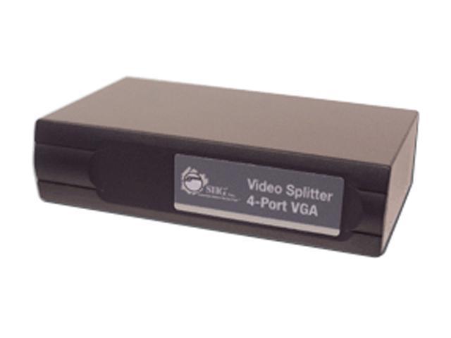 SIIG VV-S40012-S2 4-Port VGA Video Splitter
