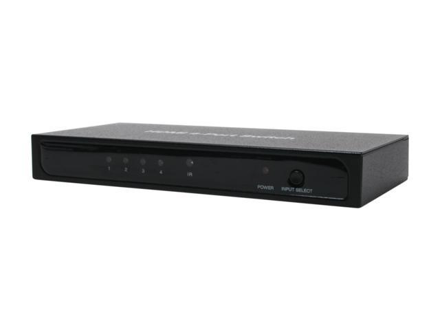 SIIG CE-000012-S1 HDMI 4 Port Switch