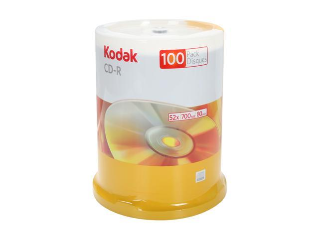 Kodak CD-R 100 Packs Disc Model 20300