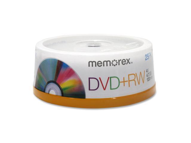 Memorex 4x DVD+RW Media