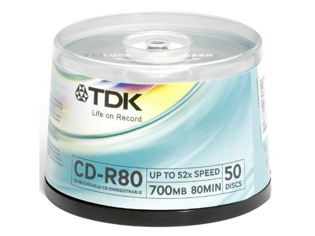 TDK 32x CD-R Media
