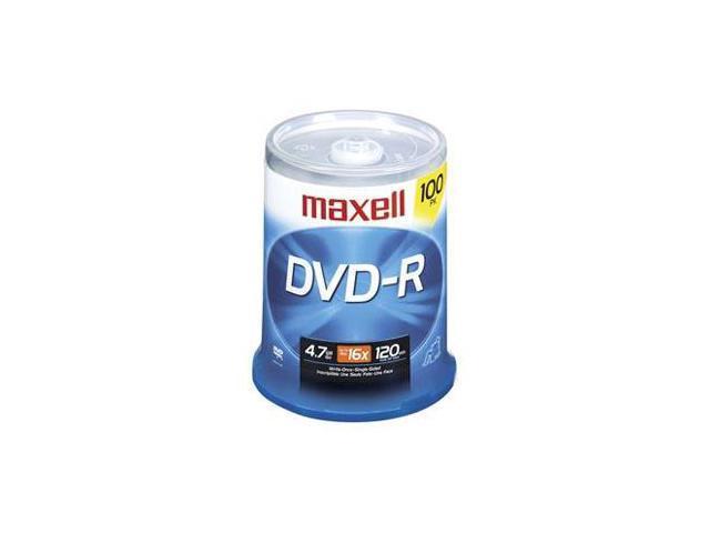 maxell 4.7GB 16X DVD-R 100 Packs Disc Model 638014