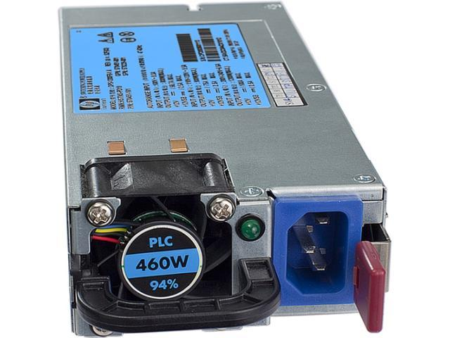 HP 503296-B21 460W Single HE 12V Hot Plug AC Server Power Supply Kit