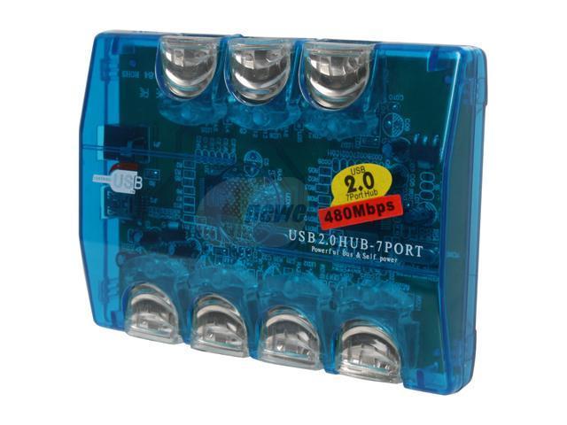 Link Depot USH-271 7 Ports USB 2.0 Hub