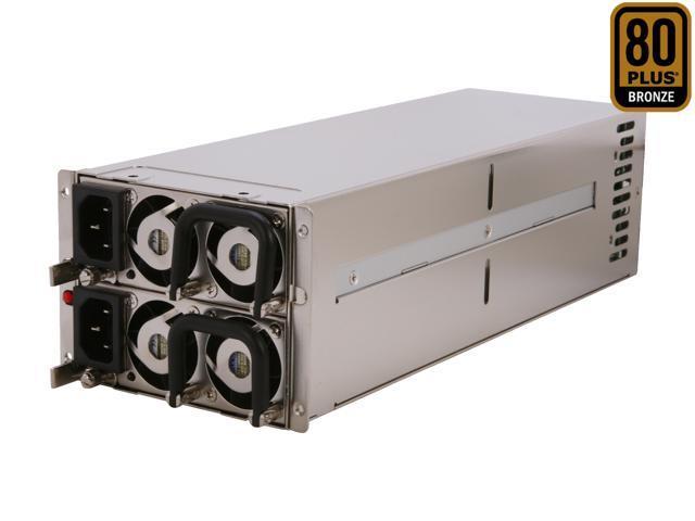 Athena Power AP-RRU2ATX866 660W Mini Redundant 2U Server Power Supply - 80PLUS Bronze