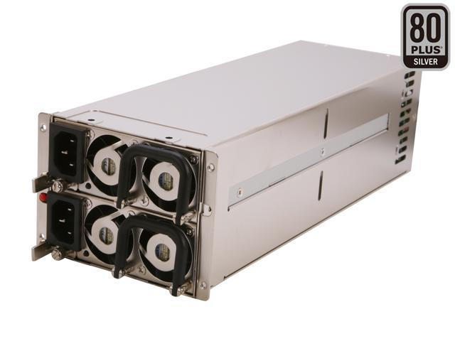 Athena Power AP-RRU2ATX876 760W Mini Redundant 2U Server Power Supply - 80PLUS Bronze