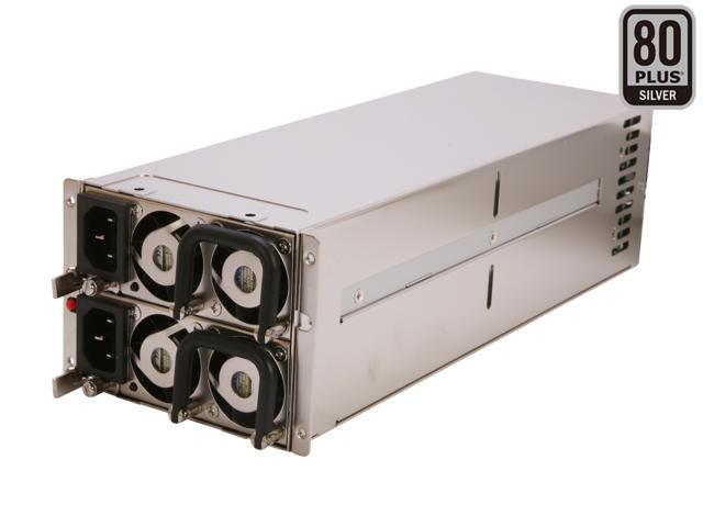 Athena Power AP-RRU2ATX886 860W Mini Redundant 2U Server Power Supply - 80PLUS Silver
