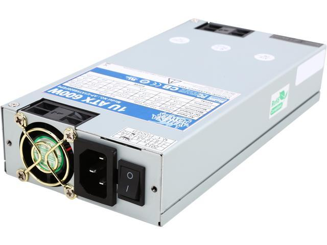 Athena Power AP-U1ATX6020FEP8 600W 1U Single Standard Length (200mm) EPS12V/ATX12V IPC Sever Power Supply - 80PLUS Bronze - ActivePFC - OEM