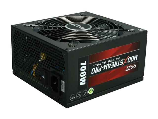 PC Power & Cooling ModXStream Pro Series OCZ700MXSP 700 Watt (700W) 80 Plus Semi-Modular Active PFC ATX PC Power Supply Performance Grade