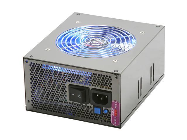 TOPOWER ZU-750W 750W ATX12V v2.2 / EPS12V v2.91 SLI Certified Active PFC Power Supply