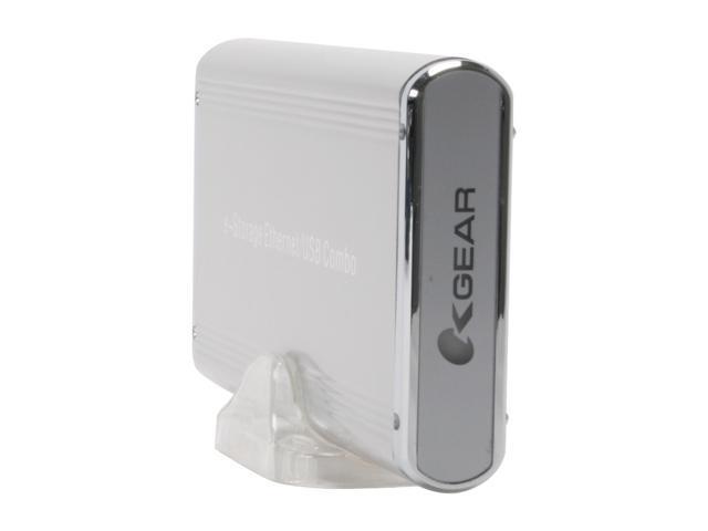 "OKGEAR LAN-SI 3.5"" SATA series HDD e-storage Ethernet/ USB 2.0 combo enclosure"