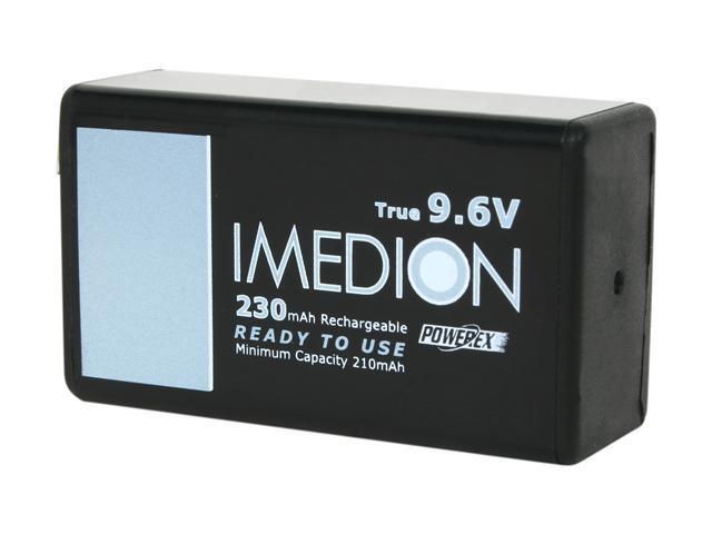 Maha MHR9VI 1-pack 230mAh 9V Ni-MH Rechargeable Batteries