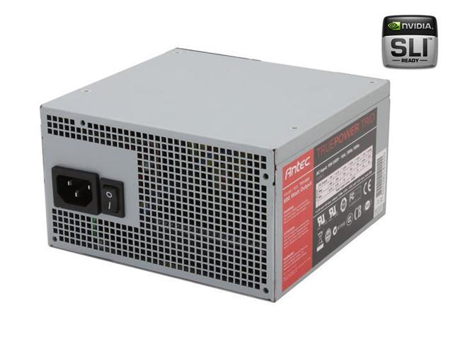 Antec True Power Trio TP3-650 650W ATX12V SLI Certified CrossFire Ready Active PFC Power Supply with Three 12V Rails