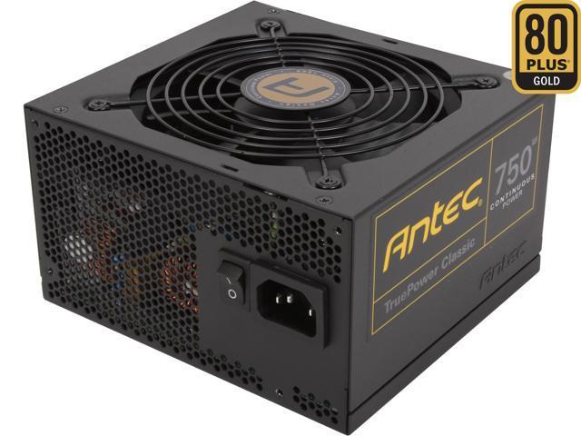 Antec TruePower Classic series TP-750C 750W ATX12V / EPS12V SLI CrossFire Certified 80 PLUS GOLD Certified Power Supply