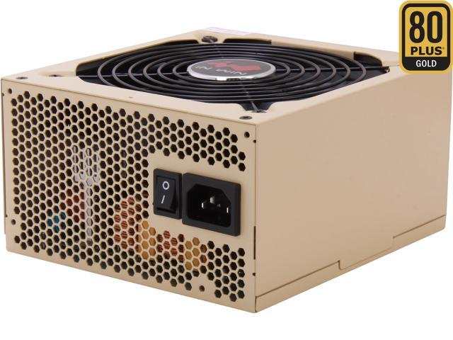IN WIN Commander III 800 800W ATX 12V 2.31 / EPS 12V 2.92 SLI Ready CrossFire Ready 80 PLUS GOLD Certified Modular Active PFC Power Supply