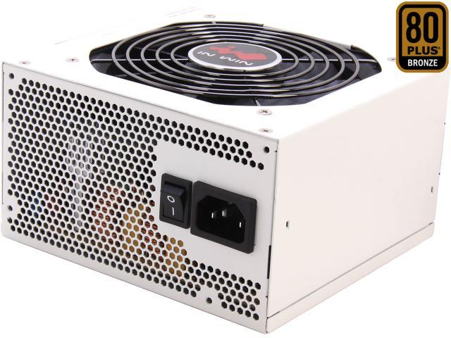 IN WIN GreenMe 550 550W ATX 12V V2.31& EPS 12V 2.92 80 PLUS BRONZE Certified Active PFC Eco-friendly design Power Supply