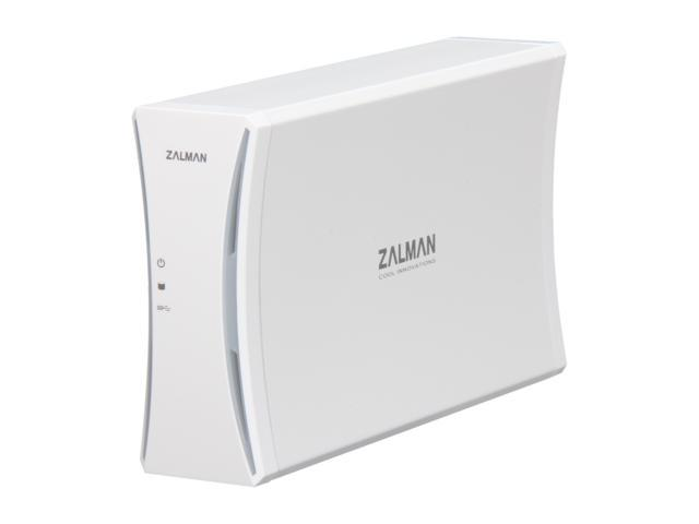 Zalman HE350 U3 White HDD External Enclosure