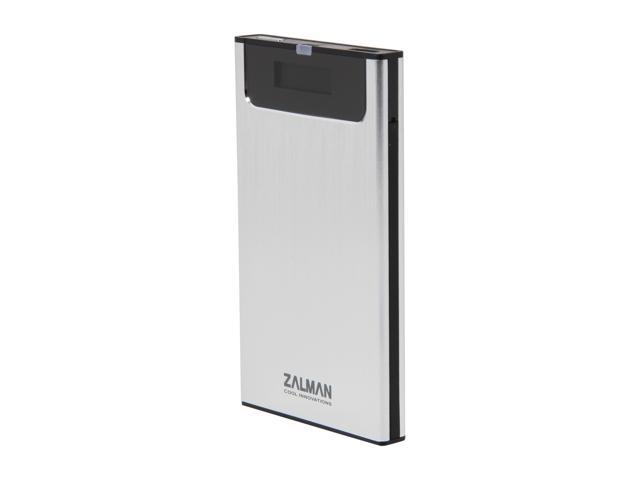Zalman ZM-VE300-SE White ZM-VE300 HDD External Enclosure with Virtualization and One Touch Back-up