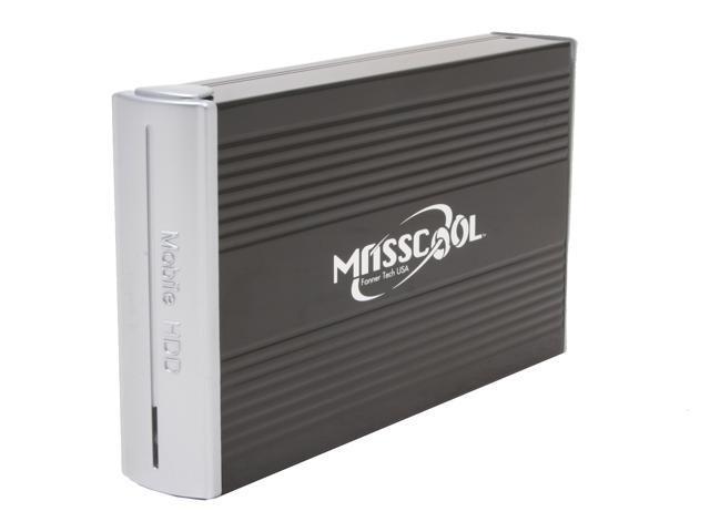 """MASSCOOL UHB-330U 3.5"""" IDE USB 2.0 External Enclosure"""