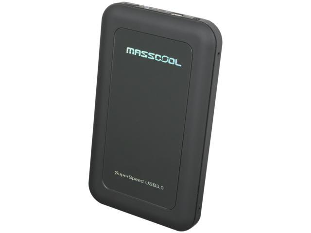 MASSCOOL UHB-2232 Black External Enclosure w/OTB function