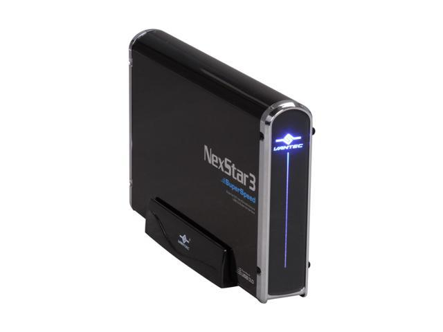 VANTEC NexStar 3 NST-380S3-BK Black External Enclosure
