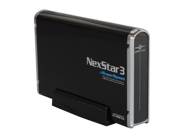 VANTEC NST-380SU3-BK Black NexStar 3 SuperSpeed Enclosure