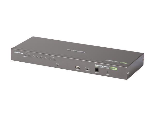 IOGEAR GCS1808 8-Port USB PS/2 Combo KVMP Switch