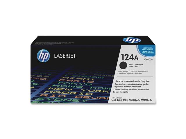 HP Q6000A Print Cartridge with ColorSphere Toner Black