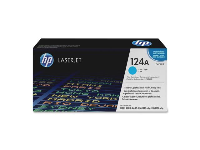 HP Q6001A Print Cartridge with ColorSphere Toner Cyan