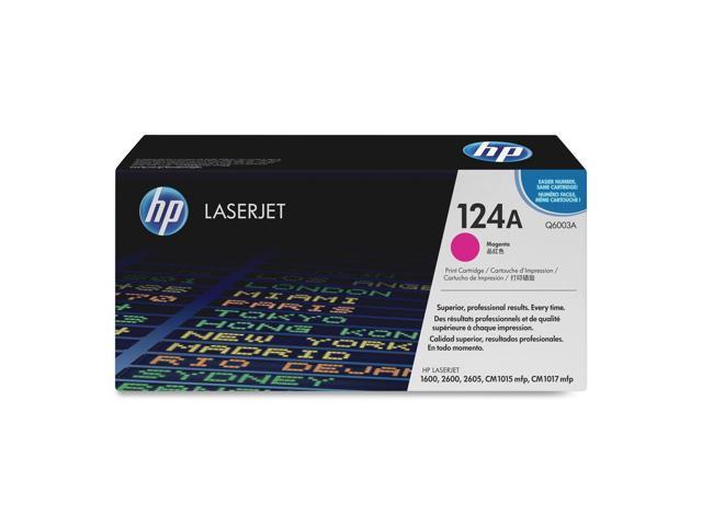 HP 124A Magenta LaserJet Toner Cartridge (Q6003A)