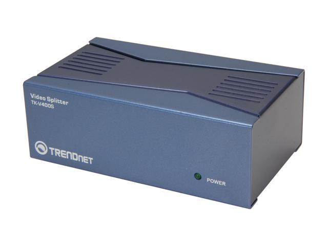 TRENDnet TK-V400S 4-Port Video Splitter