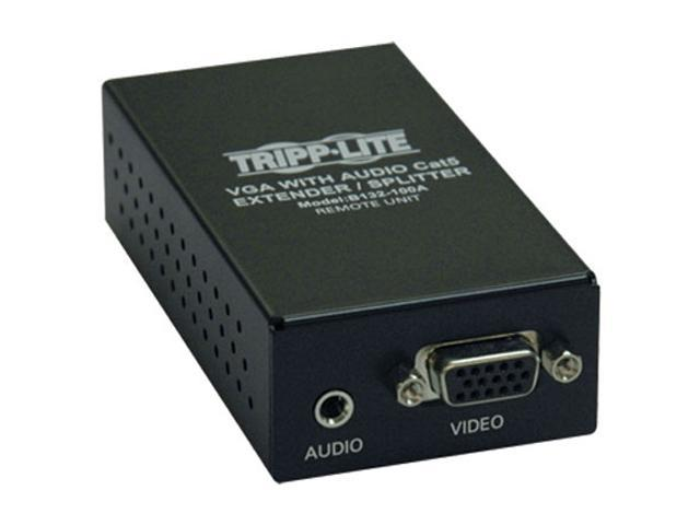 Tripp Lite VGA + Audio over Cat5 Receiver B132-100A