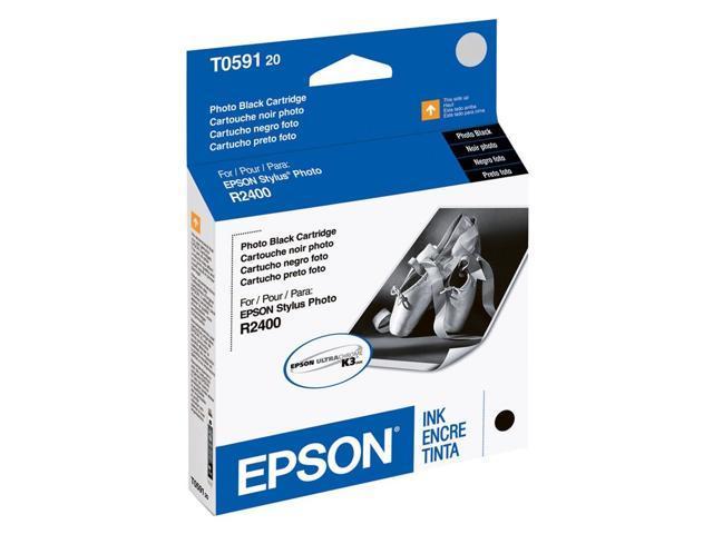 EPSON T059120 UltraChrome K3 Ink Cartridge Photo Black