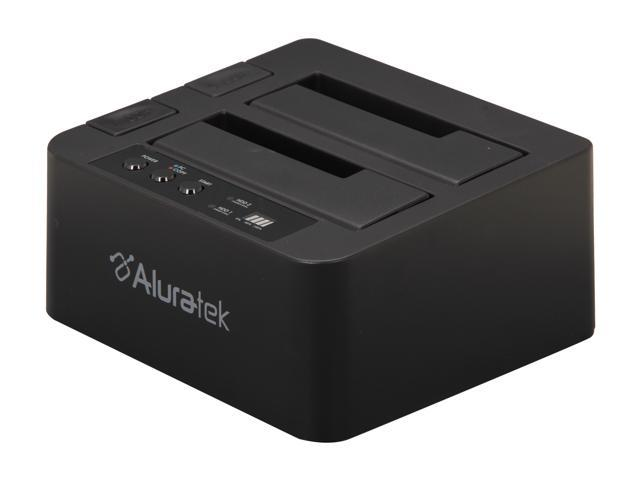 Aluratek AHDDUB100 Black External SATA Hard Drive Duplicator