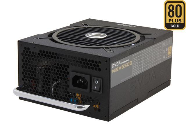 EVGA SuperNOVA NEX 650 G 80 PLUS GOLD Certified 650W Active PFC ATX12V v2.31/EPS 12V v2.91 SLI Ready 