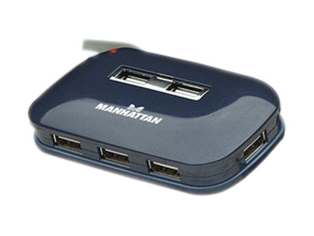 MANHATTAN 161039 7 Ports Hi-Speed USB 2.0 Ultra Hub