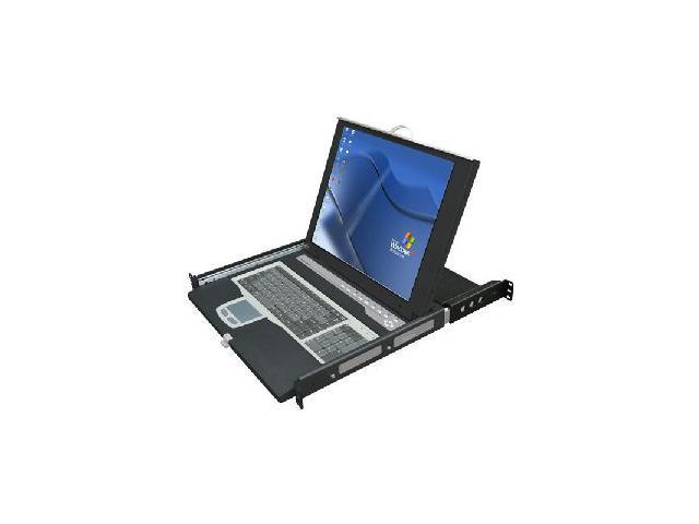 "ConnectPRO StreamLine2 SL2-18 1U-17""  KVM Console with 8-Port PS/2"