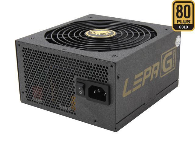 LEPA G Series G850-MAS 850W ATX12V / EPS12V SLI Ready CrossFire Ready 80 PLUS GOLD Certified Modular Active PFC Power Supply