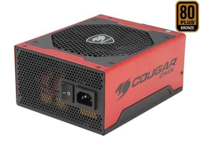 COUGAR CMX 1000 COUGAR-1000CMX 1000W ATX12V / EPS12V SLI Ready CrossFire Ready 80 PLUS BRONZE Certified Yes, flexible cable management Active PFC Power Supply Haswell ready