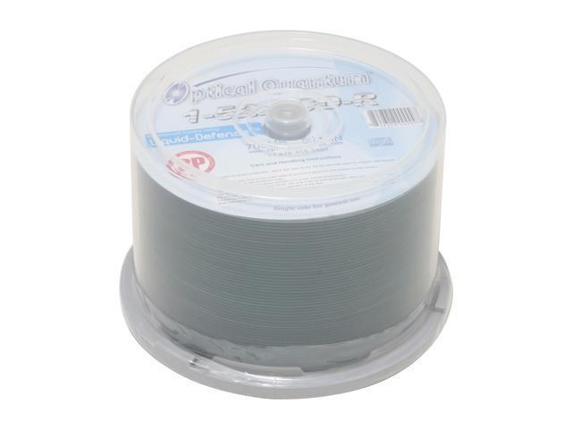 Vinpower Digital 700MB 52X CD-R White Inkjet Printable 50 Packs Water resistant Disc Model OQ/BP/52X/WPS