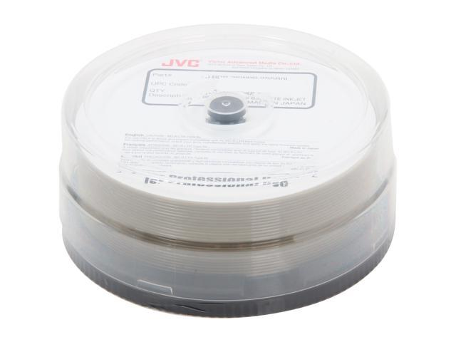 TAIYO YUDEN 25GB 6X BD-R White Inkjet Printable 25 Packs Disc Model J-BDR-25WPP-25SB6L