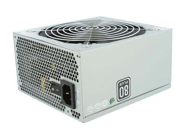 High Power HP-600-G14S 600W ATX12V 2.3 SLI Ready 80 PLUS Certified Active PFC Power Supply