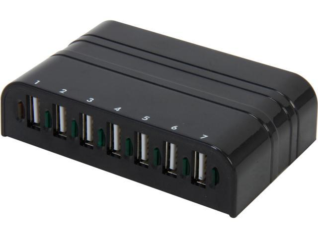 Tek Republic TUH-2700 USB 2.0 7 Port Hub with Power Adapter