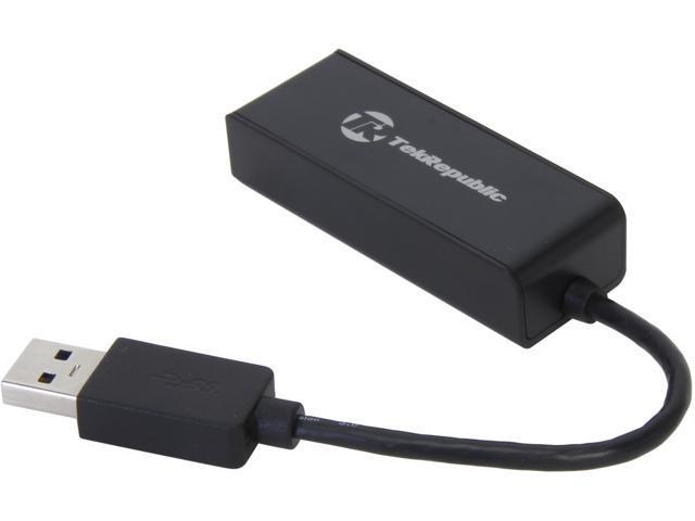 Tek Republic TUN-300 USB 3.0 to Gigabit Ethernet Network Adapter